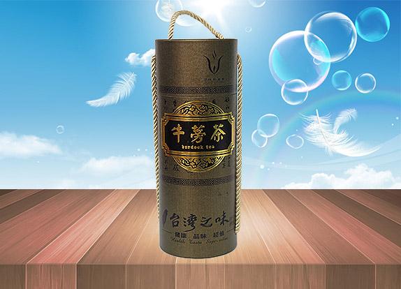 牛蒡茶叶盒